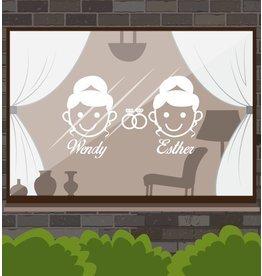 Wedding Day - Woman & femme avec anneaux