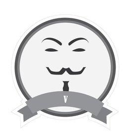 Autocollant moustaches célèbres V