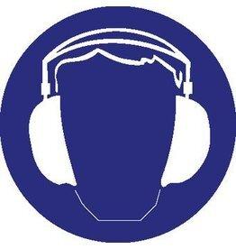 Autocollant protection des oreilles obligatoire