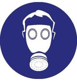 Autocollant protection respiratoire obligatoire