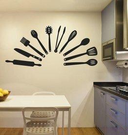 outils de cuisine Wall Sticker