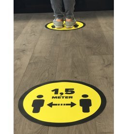 Autocollant de plancher de magasin à 1,5 mètre (à partir de 1 pièce)