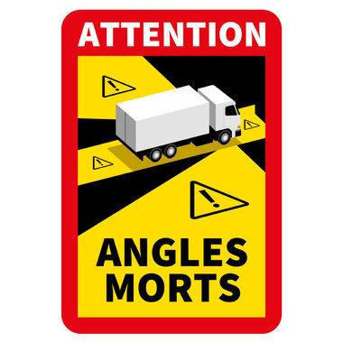 Autocollants d'avertissement