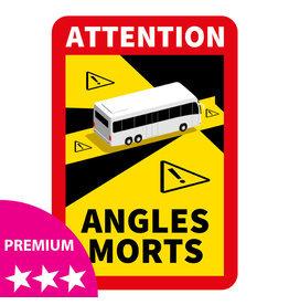 Blind spot - Autocollant Bus PREMIUM (17 x 25 cm)